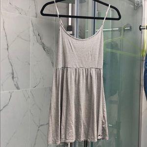 Garage striped mini dress sz S